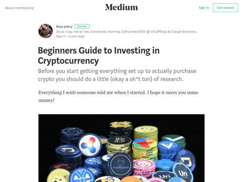 Image for: Beginners Guide to Investing in Cryptocurrency