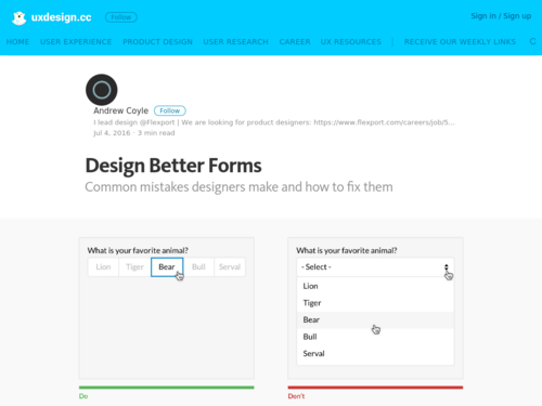Image for: Design Better Forms