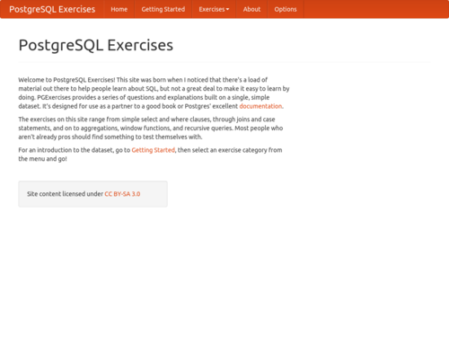 Image for: PostgreSQL Exercises
