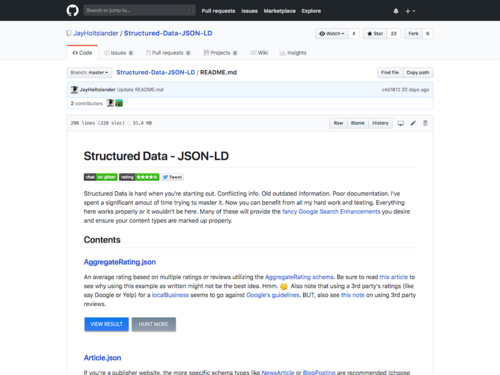 Image for: Collection of Structured Data Snippets in Google Preferred JSON-LD