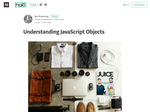 Image for: Understanding JavaScript Objects