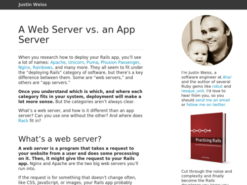 Image for: A Web Server vs. an App Server