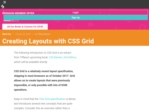 Image for: Creating Layouts with CSS Grid