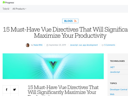 Image for: 15 Must-Have Vue Directives