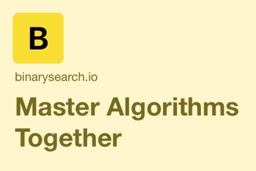 Image for: Master Algorithms Together