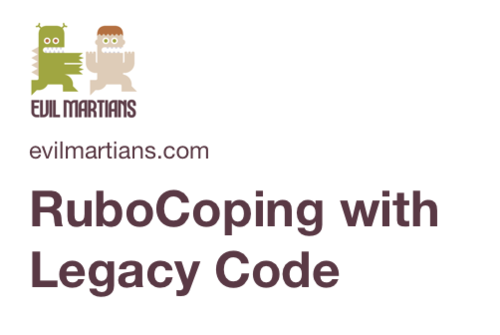 Image for: RuboCoping with Legacy Code