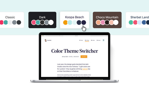 Image for:  Color Theme Switcher