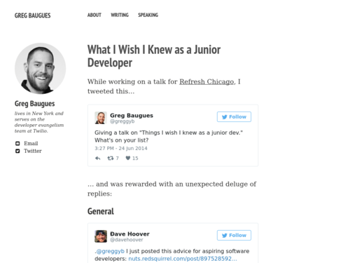 Image for: What I Wish I Knew as a Junior Developer