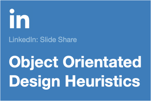 Image for: Object-Oriented Design Heuristics
