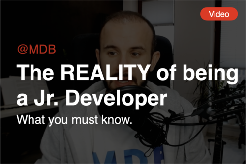 Image for: [Video] The REALITY of being a Jr. Developer