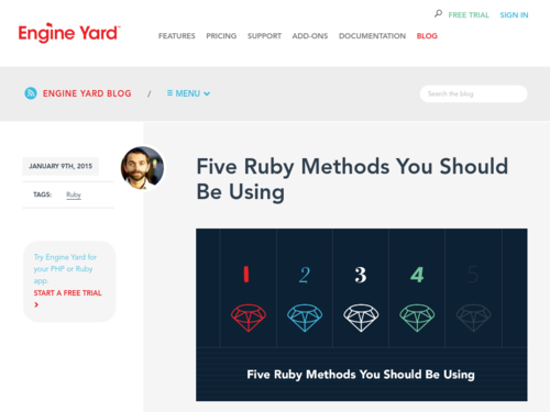 Image for: Five Ruby Methods You Should Be Using