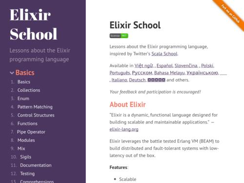 Image for: Elixir School