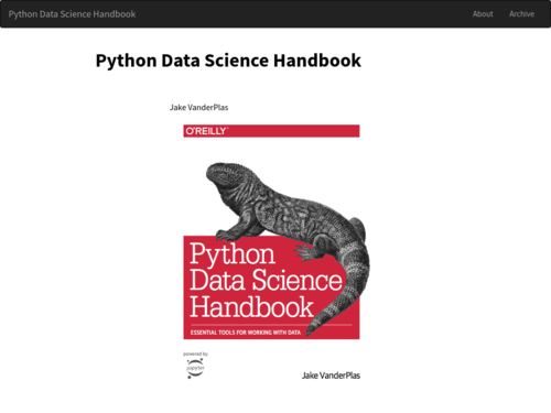 Image for: Python Data Science Handbook