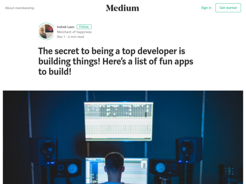Image for: Here's a List of Fun Apps to Build